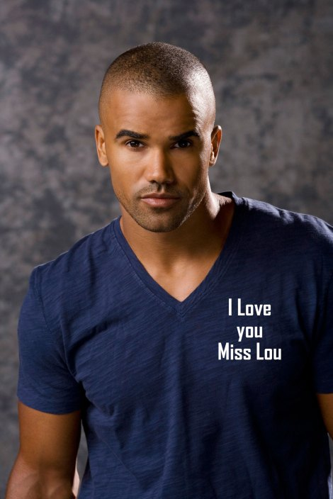 Shemar-Moore 3 I love you miss Lou